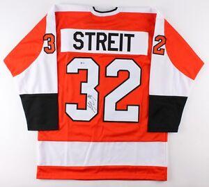 Mark Streit Signed Flyers Jersey (Beckett COA) Playing career 1995–present