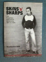 SKINS 'N' SHARPS skinheads sharpies Melbourne 1970s - RARE EXHIBITION CATALOGUE