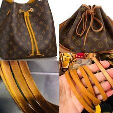 1/4x48 DrawString Leather String FOR Louis Vuitton Strap Montsouris Backpack NOE