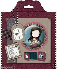 Docrafts gorjuss tweed decoupis carte kit + enveloppe, 1 papier & 2 die cut feuilles