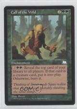 1997 Magic: The Gathering - Weatherlight #NoN Call of the Wild Magic Card 0b5