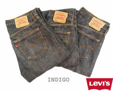 Levi's Indigo, Dark wash Mid Rise 28L Jeans for Men