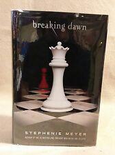 """Breaking Dawn"" by Stephenie Meyer 1st Edition 1st US Print 2008"