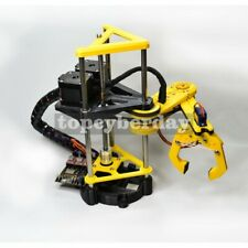 Scara Robotic Arm With Stepper Motor Controller Maker Open Source Arduino Blockly
