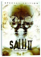 Saw II (DVD, 2006, 2-Disc, WS, Uncut Edition, Special Edition, 3D Slipcover) NEW