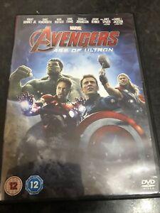 Avengers: Age of Ultron DVD (2015) Robert Downey Jr, Whedon (DIR) cert 12