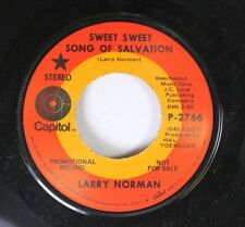 Christian Psych 45 Larry Norman Sweet Sweet Song Of Salvation On Capitol