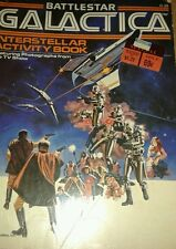 Vintage Battlestar Galactica Activity Coloring Book 70s Awesome