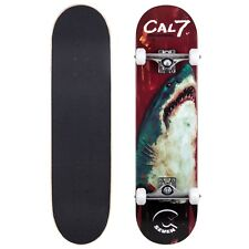 Cal 7 Thrasher Complete 8 Inch Popsicle Skateboard 5.25 Trucks 100A Wheels Deck