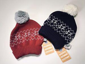 Merino : A Nice Gift : SNUG SPECTATOR HAT : Red & Grey : by Stitch-Mi-Lane, UK