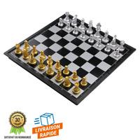 Jeu Échecs Magnétique Plateau Pliable Loisirs Stratégie Jeux de société Enfants