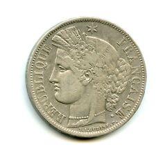 5 francs argent Cérès 1849 A n°E5268