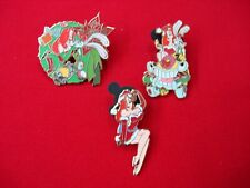 3 JESSICA RABBIT 2007 DISNEY LIMITED EDITION PINS CHRISTMAS THEMED VERY COOL
