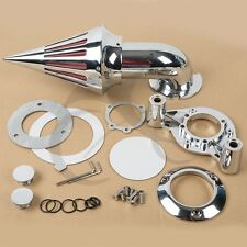 Chrome Spike Air Cleaner Intake Filter For Harley 1200 883 XL XLH1200 Sportster