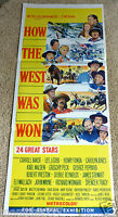 How The West Was Won 1964 J Wayne J Stewart J Ford Original Cinema Movie Poster