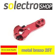 BRAZO de SERVO 25T Aluminio FUTABA HITEC JR servo MG996 MG995 Arduino R040