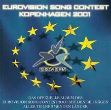 EUROVISION SONG CONTEST KOPENHAGEN 2001 / CD - TOP-ZUSTAND