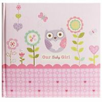 C.R. Gibson Stepping Stones Recordable Photo Album, Our Baby Girl (Discontinued