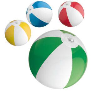 4 Mini Wasserball Strandball Badespaß Strand Wasserspielzeug Aufblasbar Ball