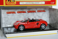 Guisval 1/43 - Toyota MR2 Spider Rouge