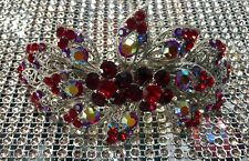 Hair accessories crystal clip pin handmade barrette wedding birthday gift