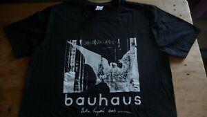 BAUHAUS Bela Lugosi's Dead T-Shirt Size Large.Goth,Post Punk,Small Wonder,Bowie