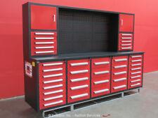 New listing Steelman 40-Drawer 10Ft Steel Work Bench Tool Cabinet Shop Box bidadoo -New