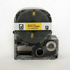 "K-Sun 208STBY Black on Yellow Shrink Tube 1/4"" KSun"