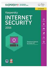 Kaspersky Internet Security 2016 Upgrade  3PC/1Jahr