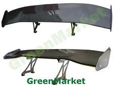 157cm/61.8'' Universal Fit Full Carbon Fiber JDM 3D GT Deck Trunk Spoiler Wing