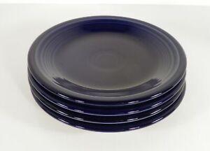 Homer Laughlin Fiesta Cobalt Blue Salad Plate (s) LOT OF 4