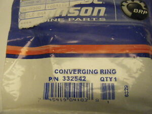 OMC NEW OEM CONVERGING RING       PART NUMBER 332542