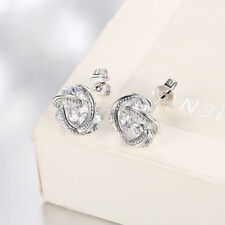 HYPOALLERGENIC  Swarovski Elements Crystal  Stud Earrings in Small  Clear Square