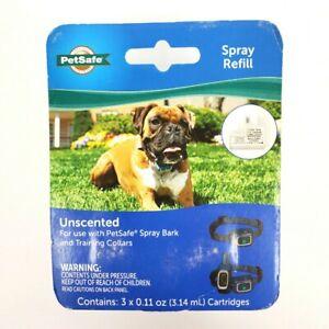 Petsafe Spray Refill Unscented Cartridge 3-Pack - PAC00-16646