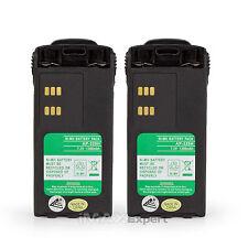 2 x HNN9008 HNN9009 Battery for Motorola GP320 GP340 PRO5150 PRO7150 PRO9150