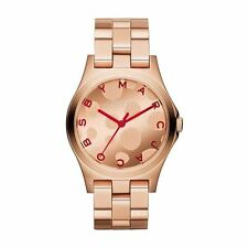 MARC BY MARC JACOBS ROSE GOLD HENRY WATCH MBM3268 - RRP £229