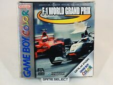 F-1 WORLD GRAND PRIX NINTENDO GAME BOY COLOR GBC PAL EUR ITA ITALIANO COMPLETO