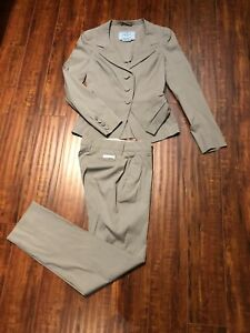 Authentic PRADA Women's Blazer Jacket + Pants  - Size 38  - ITALY