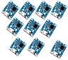 10x Micro USB 5V 1A LiPo Lithium Li-ion Akku Batterie Lade Modul DIY Chip TP4056