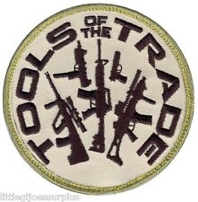 """TOOLS OF THE TRADE HOOK BACKING  Airsoft  TACTICAL PATCH 3.25"""" ROUND 72192"""