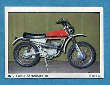 MOTO 2000 - Panini 1972 -Figurina-Sticker n. 87 - GORI SCRAMBLER 50 -Rec