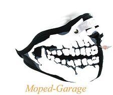 Biker Schutz Maske Face Skull Motorrad Streetfighter Chopper Moped Roller Neu