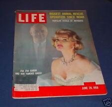 LIFE MAGAZINE JUNE 29 1959 BILLY CASPER U.S. OPEN CHAMP ZSA ZSA GABOR