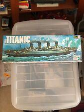 1976 REVELL 1/570 1912 British Luxury Ocean Liner RMS TITANIC Model Kit #H-445