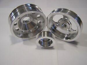 UD Underdrive Crank Pulley set fits 02-06 Subaru Impreza WRX 2.0L 2.5L Turbo