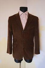 "Men's Corduroy Hunting Shooting jacket Blazer Cord Casual S 40 "" brown M vintage"
