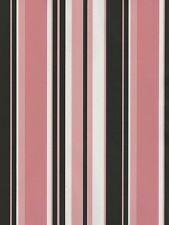 Black, Pink & White Stripes Wallpaper TS28111