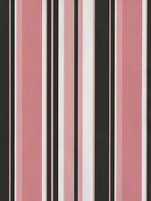 Black, Pink & White Stripes Wallpaper TS28111