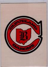 1977-78 O-PEE-CHEE OPC NO. 326 CLEVELAND BARONS TEAM LOGO / RECORDS NM