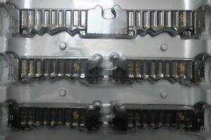 Athearn 95605 Chesapeake & Ohio C&O 40' 3-Bay Ribbed Hoppers 6-Pack